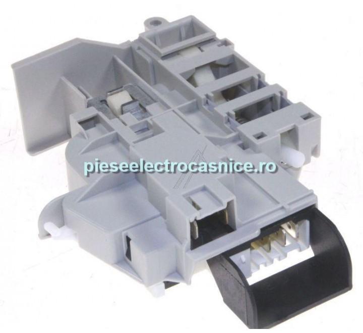 Inchizator electric usa, hublou masina de spalat  MECANISM BLOCARE USA PT INDESIT C00264535, FARA CABLU  D313787