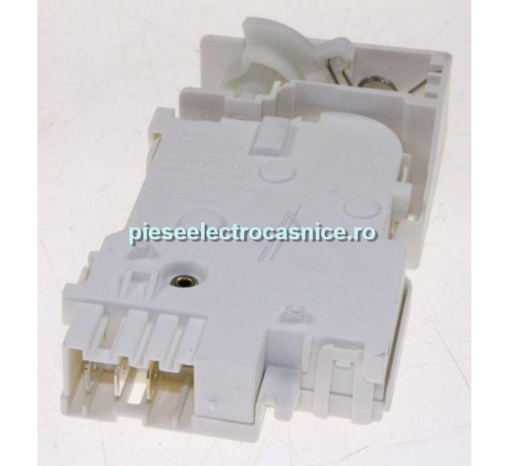 Inchizator electric usa, hublou masina de spalat  MECANISM BLOCARE USA PT INDESIT C00141683  D338295