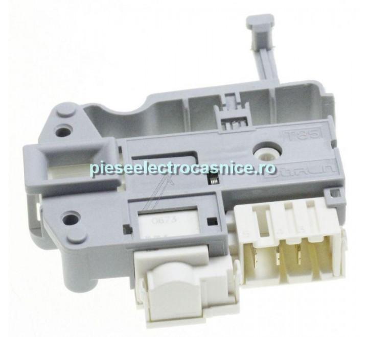 Inchizator electric usa, hublou masina de spalat BITRON MECANISM BLOCARE USA <=> C00254755 INDESIT, VERSIUNE NOUA BITRON G788878