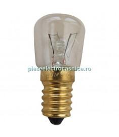 Bec aragaz  E14 BEC CUPTOR,  25W-230V, L=58MM, 300°C  244105