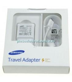 Incarcator GSM SAMSUNG INCARCATOR RAPID 2A 5-9V +CABLU MICRO-USB, ALB EP-TA20EWEUGWW SAMSUNG G216270
