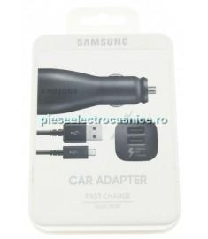 Incarcator auto GSM SAMSUNG SAMSUNG INCARCATOR RAPID, DUAL-USB JE 15W, INCL. CABLU USB EP-LN920BBEGWW SAMSUNG H191358