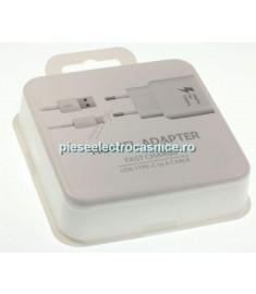 Incarcator GSM SAMSUNG INCARCATOR RAPID SAMSUNG USB-C, 25W, WHITE EP-TA300CWEGWW SAMSUNG H191359