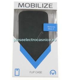 Husa Telefon GSM MOBILIZE MOBILIZE ULTRA SLIM FLIP CASE MOTOROLA MOTO X BLACK 21285 MOBILIZE H504421